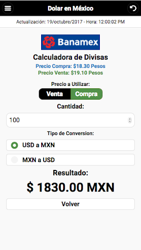 Dollar Price in México screenshot 6