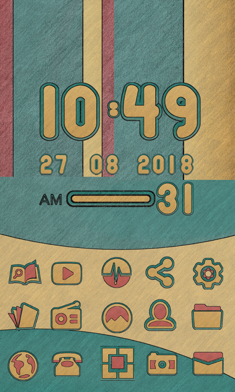 Terra Icon Pack Natural Art Screenshot 5