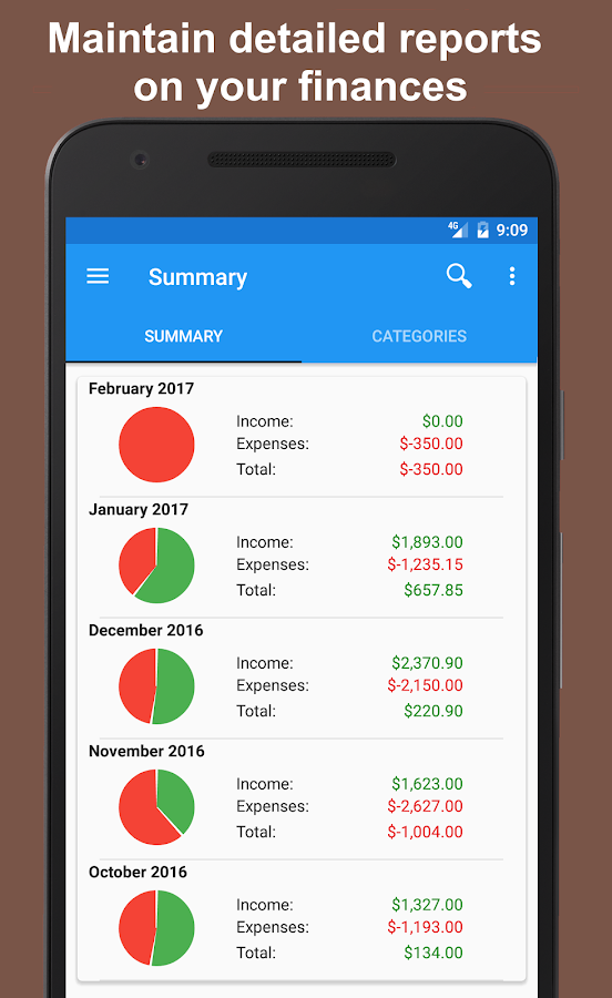 Fast Budget - Expense Manager Screenshot 6