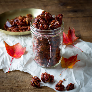 Chocolate Chili Spiced Pecans
