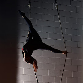 Trapeze Split by Adam Menzies - Sports & Fitness Other Sports ( school, canada, bc, vancouver, circus )