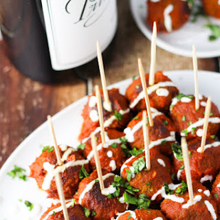 Turkey Meatballs in Chipotle Sauce