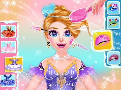 Ice Ballerina Dancing Battle: Dress Up Games