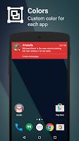 Screenshot of Metro Notifications Free