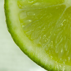 Lime by Katie Woolwine - Novices Only Macro ( macro, fruit, fresh, green, lime )