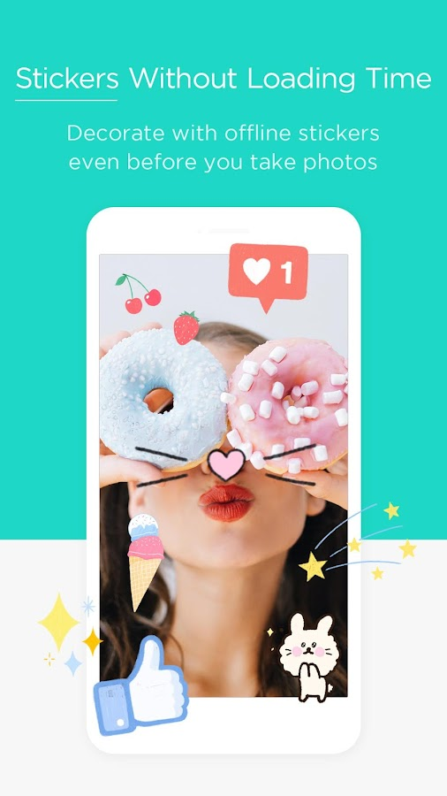 Candy Camera - selfie, beauty camera, photo editor Screenshot 4