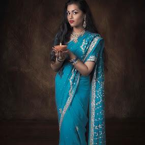 India by Carola Kayen-mouthaan - People Portraits of Women ( model, woman, fine art, india, portrait,  )