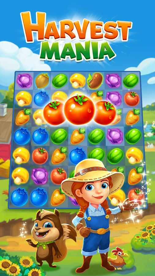Harvest Mania - Match 3 Puzzle Screenshot 4