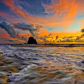 Papuma IV by Van Condix - Landscapes Sunsets & Sunrises