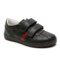 Gucci Leather Trainer VELCRO TRAINER