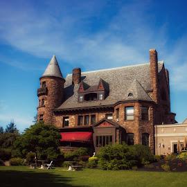 Belhurst Castle by Theresa Nagy - Buildings & Architecture Public & Historical ( history, castle, new york, haunted )