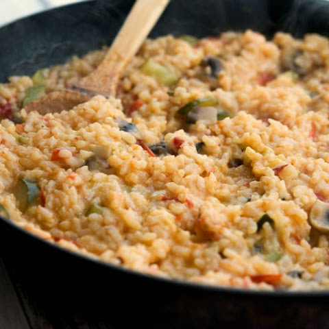 Garden Vegetable Risotto