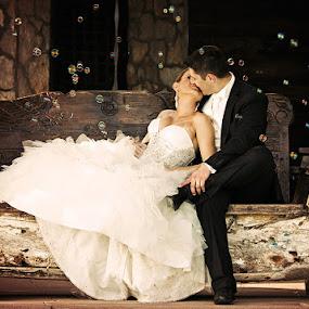 by Ante Gašpar - Wedding Bride & Groom