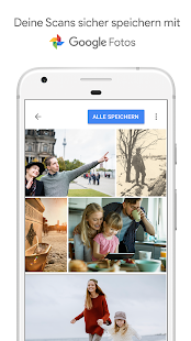 Fotoscanner von Google Fotos Screenshot