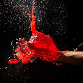 red blood by Assoka Andrya - Novices Only Objects & Still Life