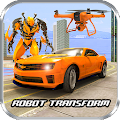 Drone Robot Transform Robot Car Transforming games APK