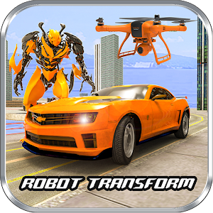 Drone Robot Transform Robot Car Transforming games For PC / Windows 7/8/10 / Mac – Free Download