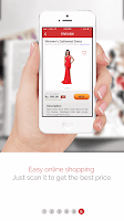 Screenshot of Alive OneScan Visual Search AR