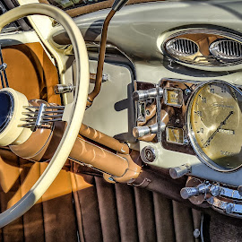 Dodge Brothers Interior by Ron Meyers - Transportation Automobiles