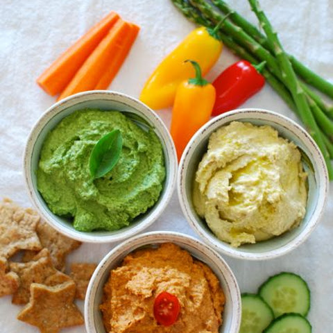Three-Color Hummus