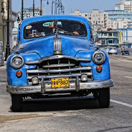 by Bencik Juraj - Transportation Automobiles ( car, old car, havana, cuba )