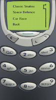 Screenshot of Classic Snake - Nokia 97 Old