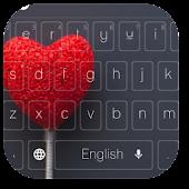 APK App Hearts Lollipop Keyboard for BB, BlackBerry