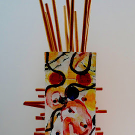 Sculpture by Philippe Smith-Smith - Artistic Objects Other Objects ( abstract, sculpture, abstract art, colors, art )