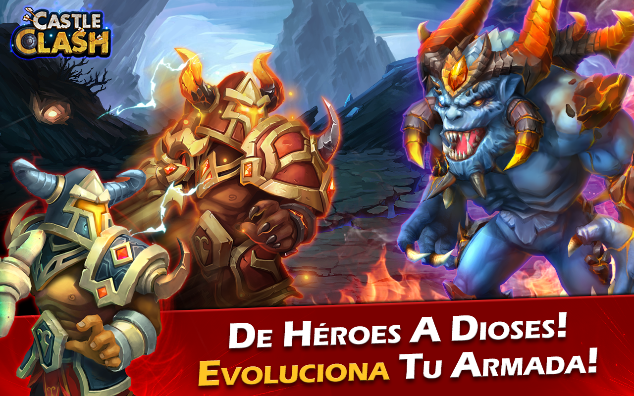 Castle Clash: Era de Leyendas Screenshot 3