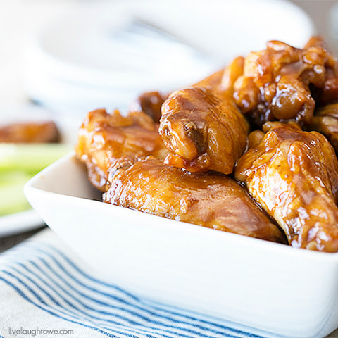 Easy Slow Cooker BBQ Chicken Wings