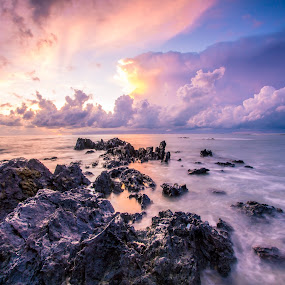 Sunrise@ Batu Layar  by Jack Lim - Landscapes Sunsets & Sunrises