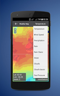 hourly weather free - screenshot