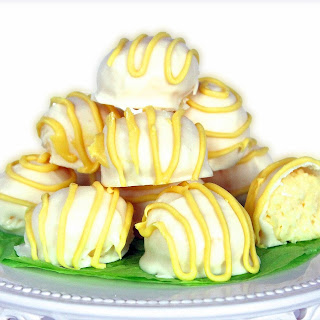 Lemon Coconut Cheesecake Bites