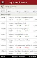 Screenshot of Vanguard