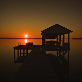 Sunrise by Teresa Wooles - Landscapes Waterscapes ( sunrise )