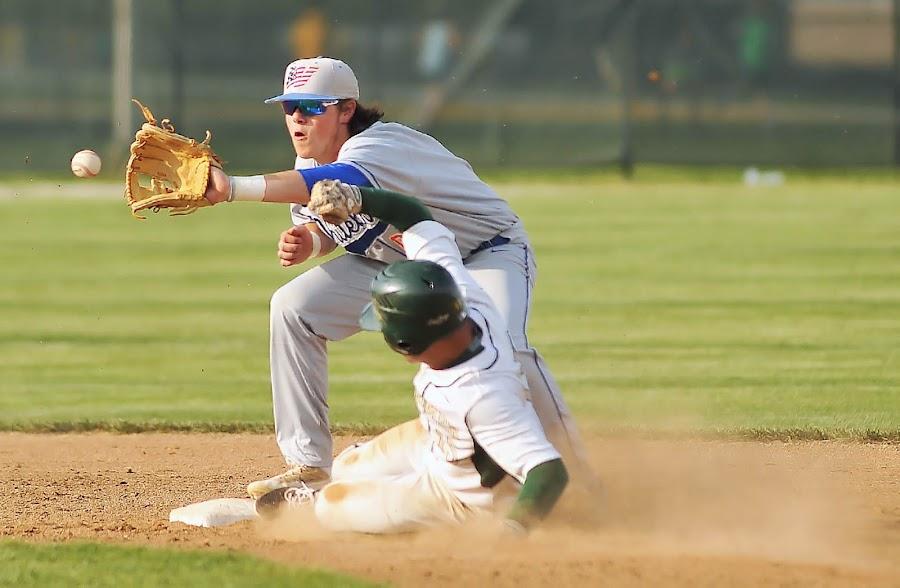 Greenwood VS Whiteland 6 by Oscar Salinas - Sports & Fitness Baseball ( greenwood indiana-greenwood vs whiteland boys varsity high school baseball april 19 2017 )