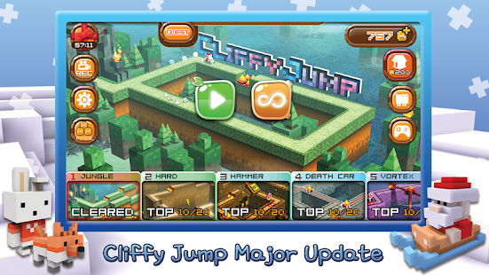 Cliffy Jump- screenshot thumbnail
