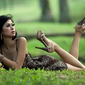 Beautiful Astari by Joni Irwanto - People Portraits of Women ( model, indonesia, portrait )