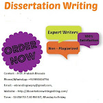 We are Experts in Dissertation Writing Services in Pune