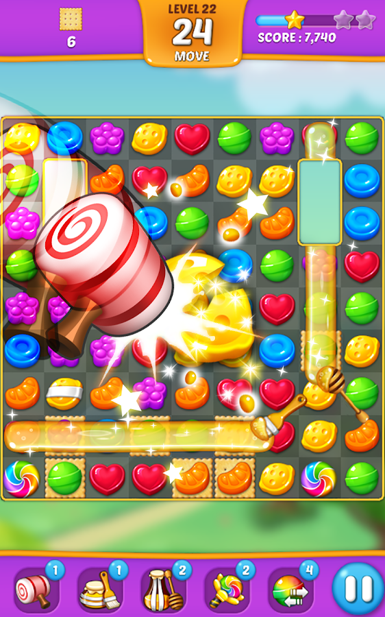 Lollipop: Sweet Taste Match 3 Screenshot 7
