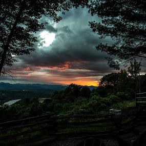 Ashville, NC by Sabastian L - Landscapes Sunsets & Sunrises ( mountains, camping, asheville, nc, sunset )