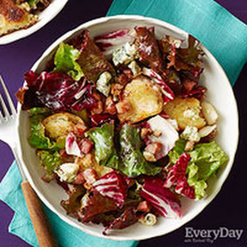 Bread Salad with Radicchio and Blue Cheese
