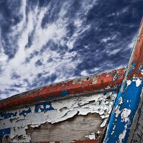 Old boat by Zoran Mrđanov - Transportation Boats (  )