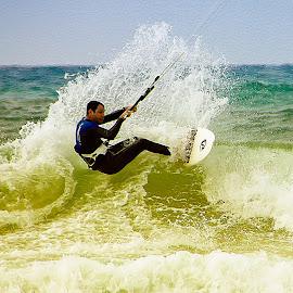 BANANA BEACH TELAVIV by Dong  Leoj - Sports & Fitness Watersports ( watersports, sports&fitness )