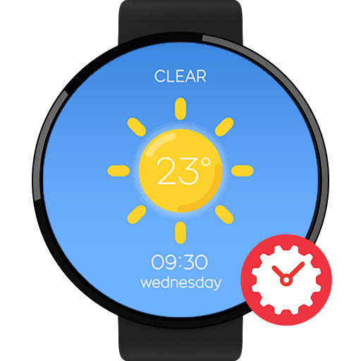 Wetter Watchface by Pluto