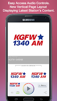 Screenshot of KGFW 1340AM