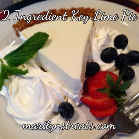 Easy 2 Ingredient Key Lime Pie