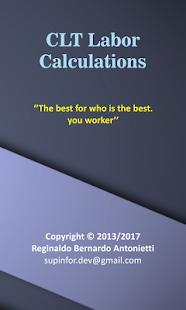 App Labor Calculations CLT APK for Windows Phone