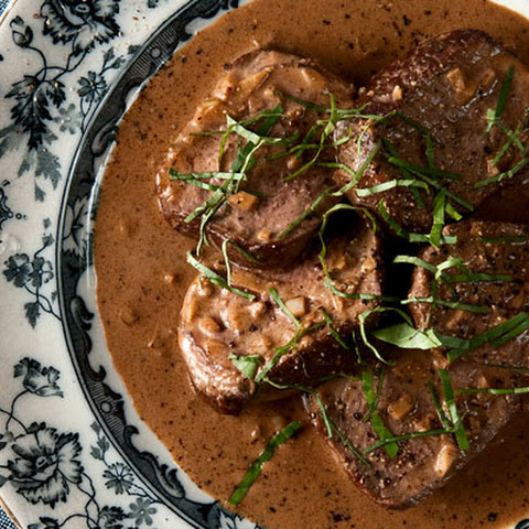 Venison Steak Diane