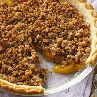 Gluten-Free Peach Crumble Pie